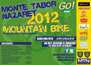 Mountainbike  Interescolar Copa Monte Tabor y Nazaret.